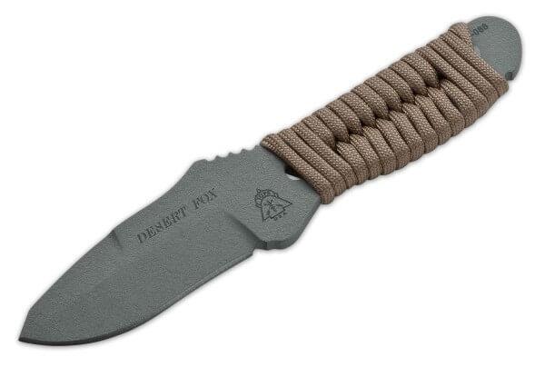 Feststehendes Messer, Braun, Feststehend, 1095, Paracord