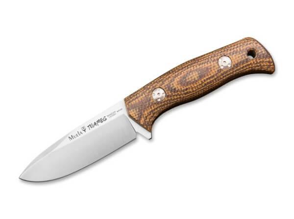 Feststehendes Messer, Braun, Feststehend, 14C28N, Micarta
