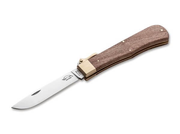 Taschenmesser, Braun, Nein, Backlock, 4034, Sapeliholz