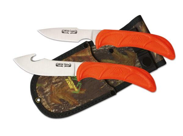 Feststehendes Messer, Orange, Feststehend, 420J2, TPE