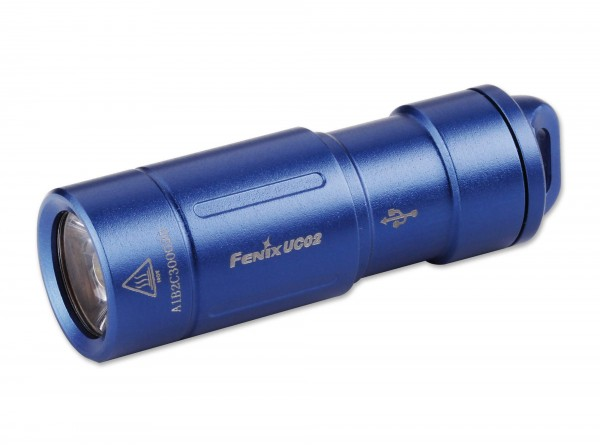 Taschenlampe, Blau, Aluminium
