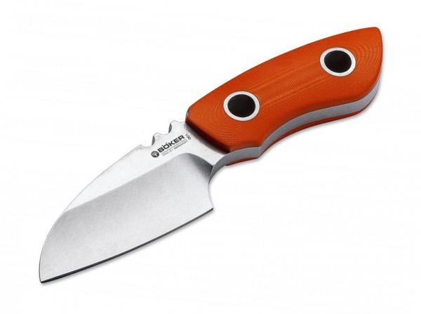 Feststehendes Messer, Orange, Feststehend, CPM-3V, G10