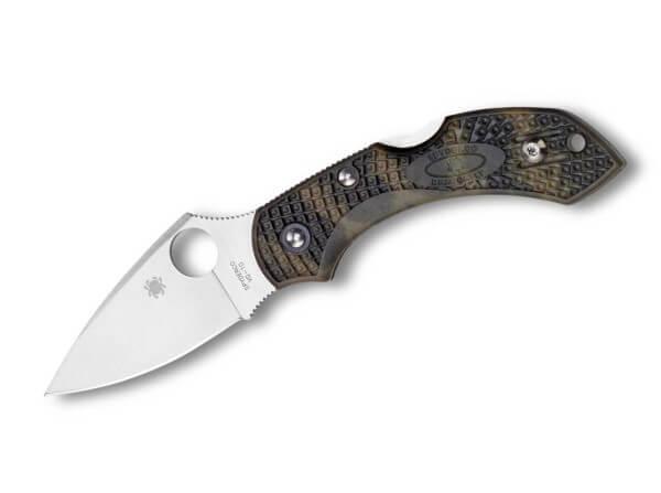 Taschenmesser, Braun, Daumenöffnung, Backlock, VG-10, Kunststoff