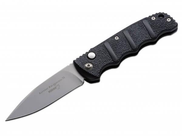 Taschenmesser, Schwarz, AUS-8, Aluminium