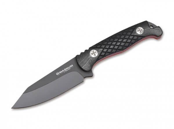Feststehendes Messer, Schwarz, Feststehend, 440A, G10