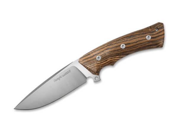 Feststehendes Messer, Braun, Feststehend, N690, Bocoteholz