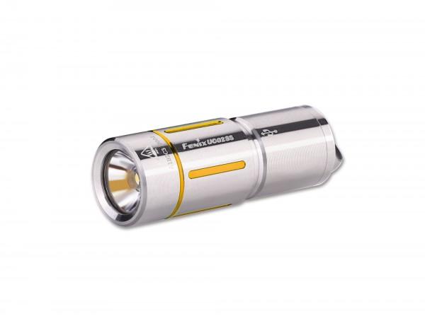 Taschenlampe, Silber, Edelstahl