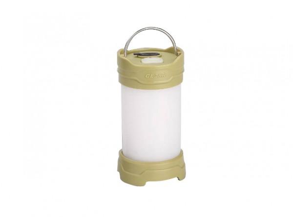Campinglampe, Grün, Kunststoff