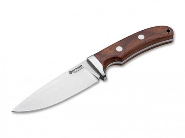 Feststehendes Messer, Braun, Feststehend, N690, Cocoboloholz