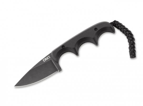 Feststehendes Messer, Schwarz, Feststehend, 5Cr15MoV, G10