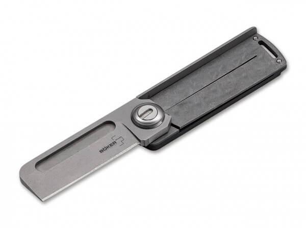 Taschenmesser, Grau, Daumenöffnung, Linerlock, 9Cr13CoMoV, G10